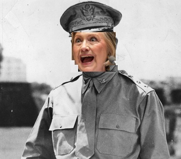 Like Gen. MacArthur fleeing capture by advancing  Japanese forces in the Philippines, Hillary's campaign, after the IG's report, is waiting for the FBI probe shoe to drop