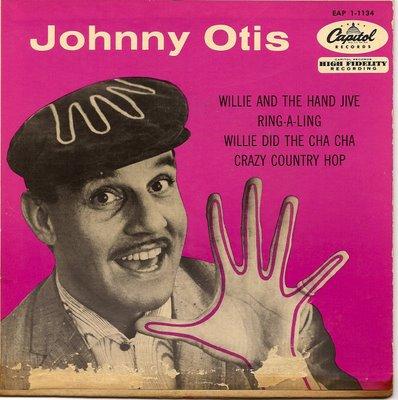 Johnny Otis vintage album cover (Capitol Records)