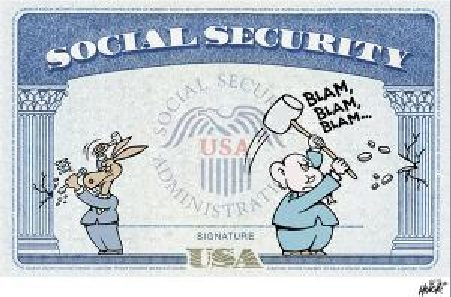 Republicans and Democrats alike have been shorting the elderly on Social Security benefits for years (courtesy UE union)