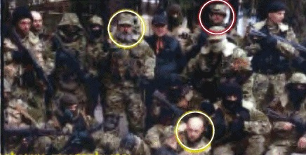 The NY Times, in April 2014, ran this photo allegedly showing Russian soldiers fighting in Ukraine, based on unverified claims b
