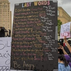 Last words of people killed by polide